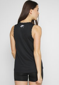 Nike Performance - W NK AIR  - Camiseta de deporte - black/white - 2