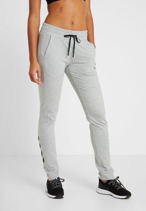 HMLNICA - Pantalones deportivos - grey melange