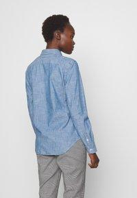 Polo Ralph Lauren - CHAMBRAY GEORGOA - Button-down blouse - indigo - 2