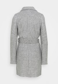 Vero Moda Tall - VMBRUSHEDDORA JACKET - Classic coat - light grey melange - 1