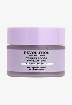 TONING BOOST BAKUCHIOL EYE CREAM - Augenpflege - -
