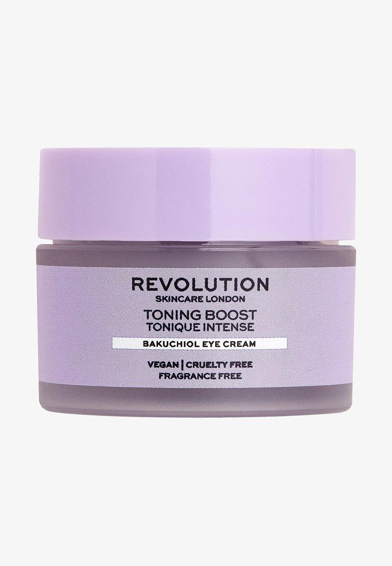 Revolution Skincare - TONING BOOST BAKUCHIOL EYE CREAM - Eyecare - -