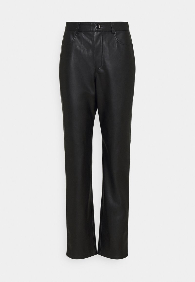 Nly by Nelly - HIGH WAIST PANTS - Pantalon classique - black