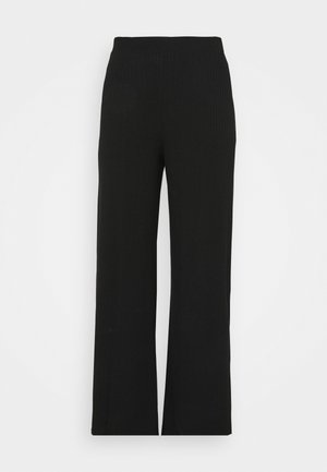 WID LEG TROUSER - Trousers - black