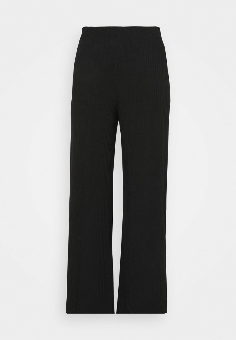 Missguided Plus - WID LEG TROUSER - Trousers - black