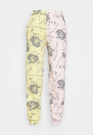 BEAR PANEL - Pantalones deportivos - multi