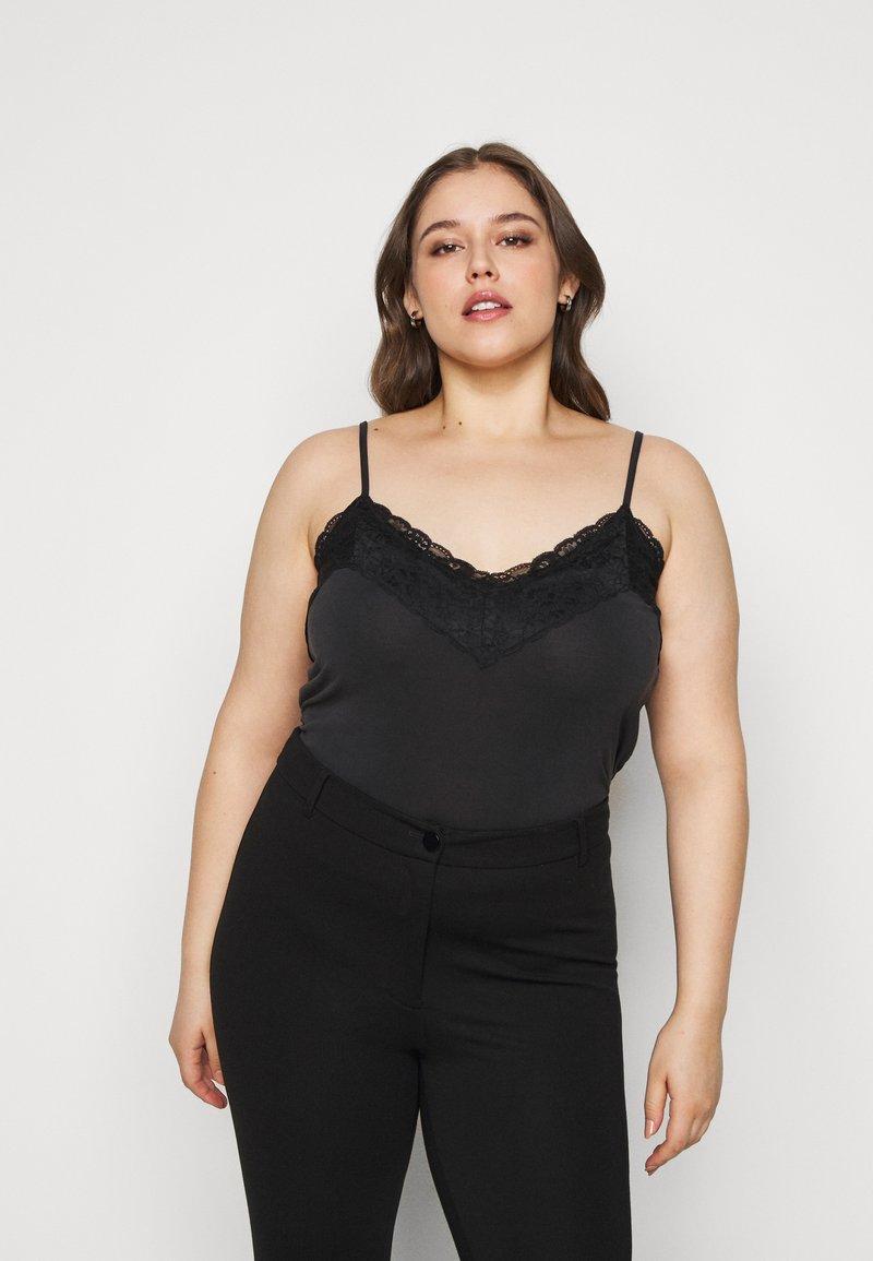 Vero Moda Curve - VMBIA SINGLET - Top - black