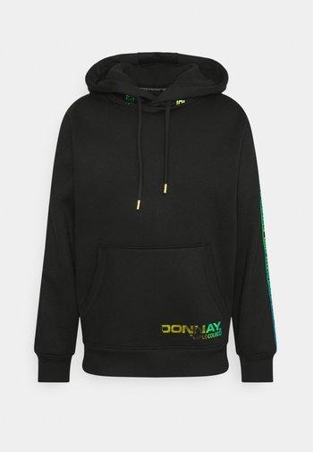 HOODIE MIT IRISIERENDEM PRINT KÄNGURUTASCHE UNISEX - Sweatshirt - black reflective