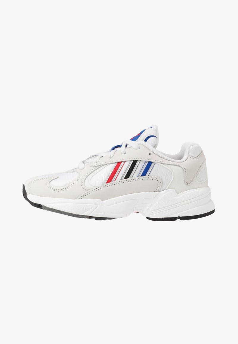 adidas Originals - YUNG-1 - Sneakersy niskie - crystel white/silver metallic/core black