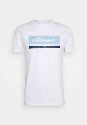 OSMAN - Camiseta estampada - white