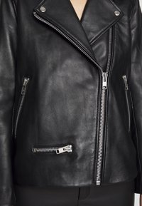 Samsøe Samsøe - WELTER JACKET  - Leather jacket - black - 6