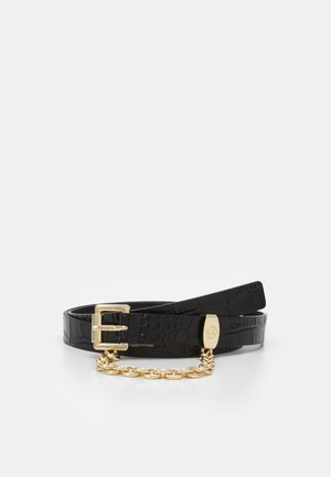 CHAIN SWAG BELT - Belt - black