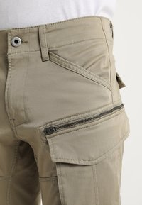G-Star - ROVIC ZIP 3D STRAIGHT TAPERED - Cargo trousers - dune - 5