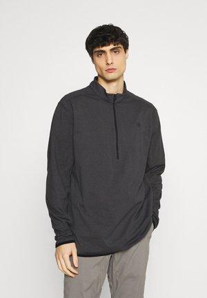 ALL TERRAIN GEAR ZIP - Långärmad tröja - black
