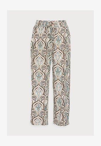 PARY - Trousers - aqua combi