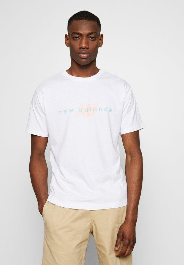 ATHLETICS FRIENDS - T-shirt imprimé - white