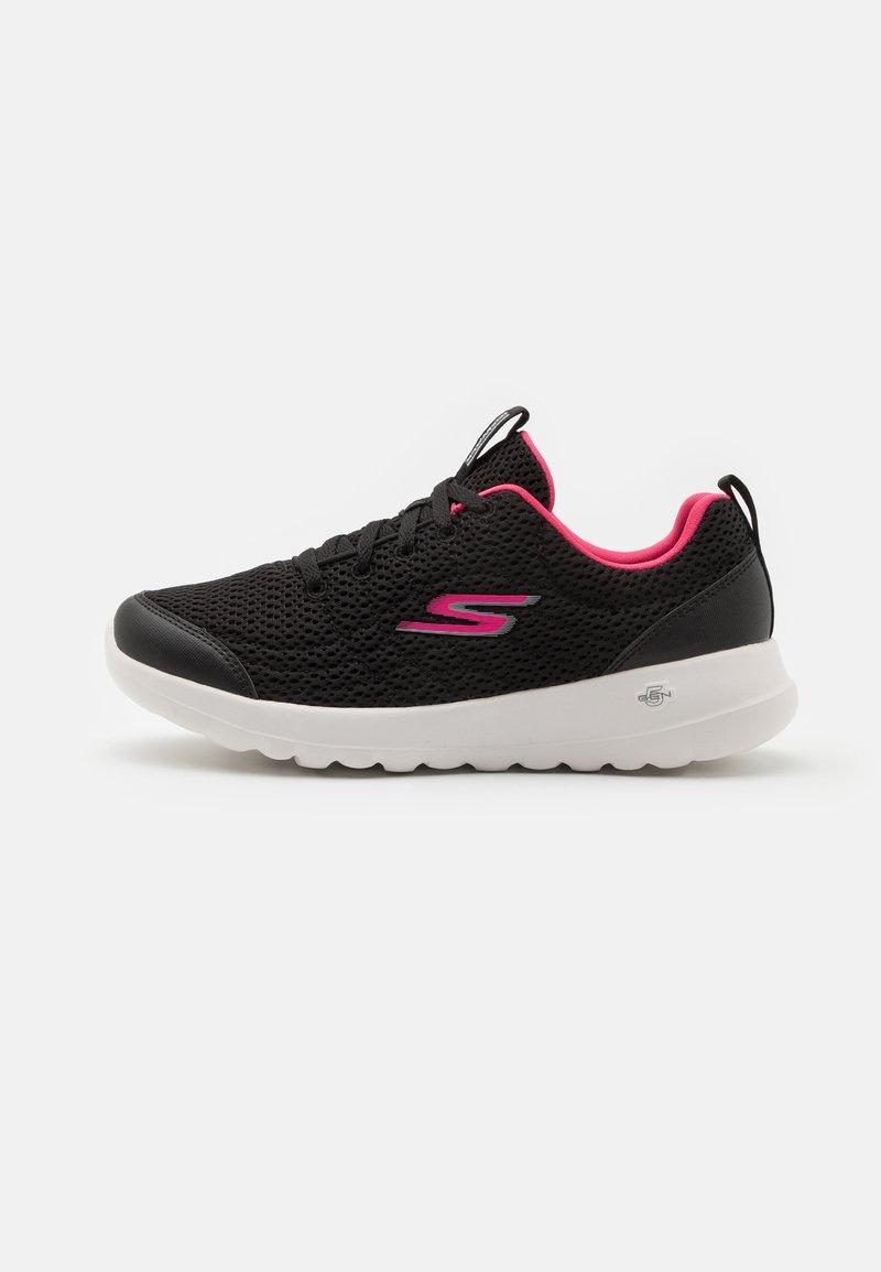 Skechers Performance - GO WALK JOY EASY BREEZE - Sportieve wandelschoenen - black/hot pink