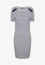 EDEN MIX DRESS - Jersey dress - white