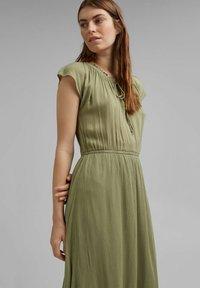 Esprit - Maxi dress - light khaki - 4