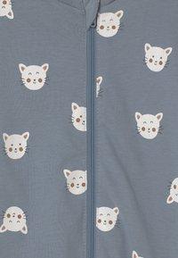 Lindex - CAT FACES UNISEX - Pyjamas - blue - 2