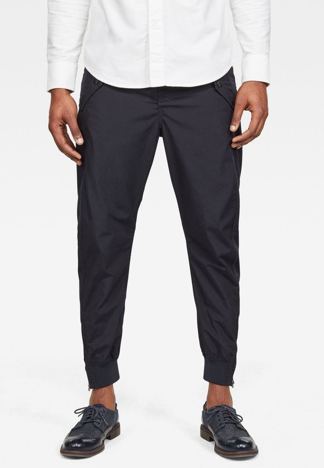 3D RELAXED - Trousers - mazarine blue