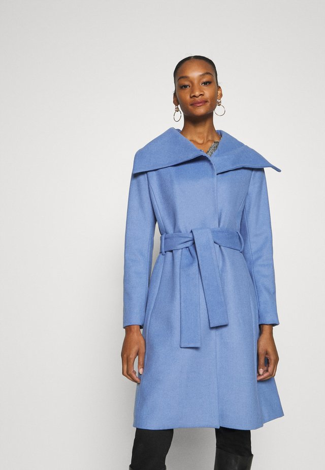 ZELENA COAT - Kåpe / frakk - light blue
