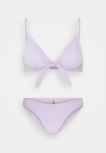 KIKKI TOP MILY BRIEF  - Bikini - purple solid
