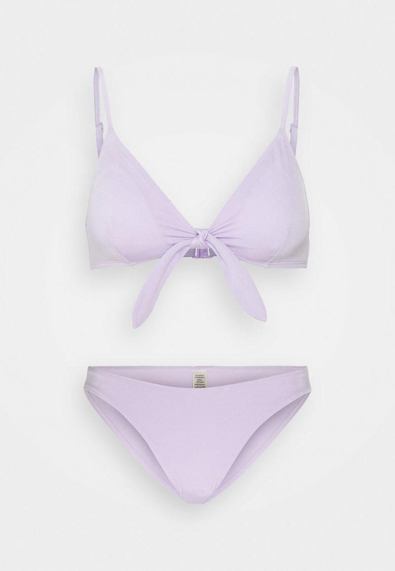 Monki - Bikini - purple solid