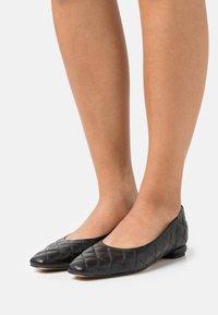 L37 - WOMAN'S WORLD - Ballet pumps - black - 0