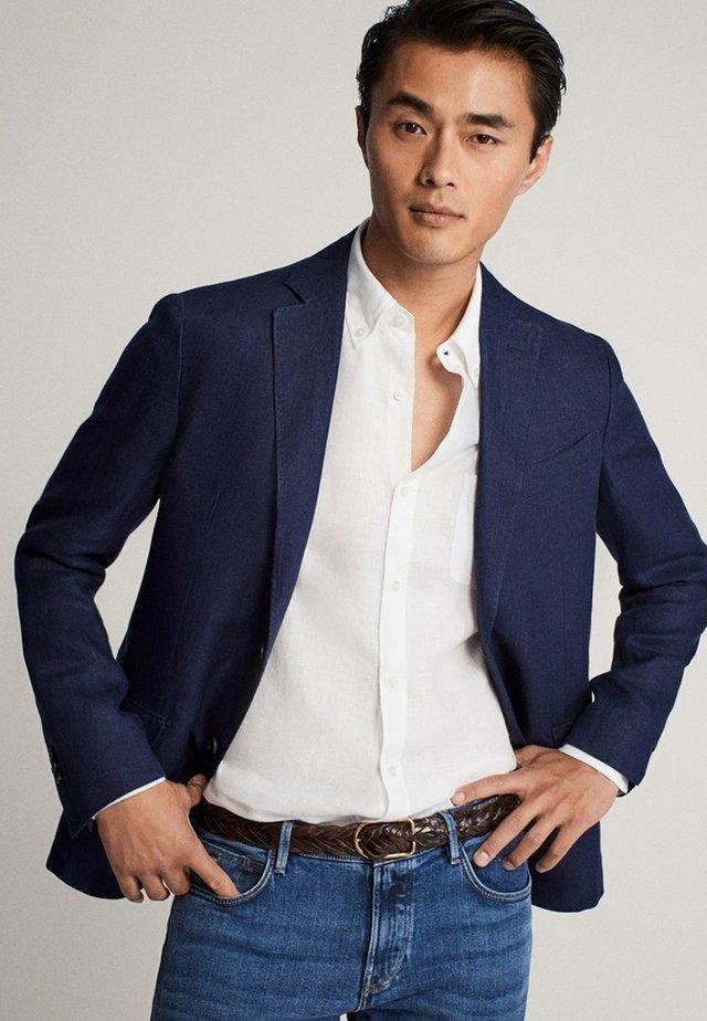 blazer - blue/black denim