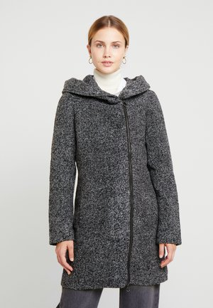 MANTEL - Classic coat - black tweed