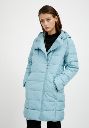 Winter coat - light turquois