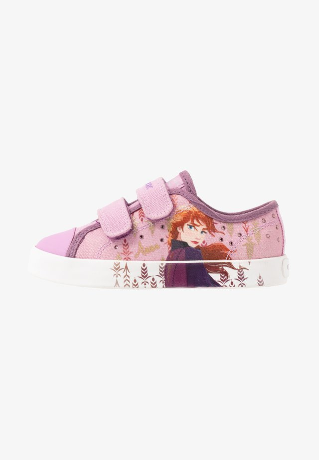 CIAK GIRL FROZEN ELSA - Baskets basses - pink/mauve