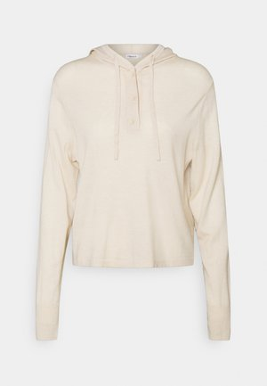 CHIARA HOODIE - Svetr - soft beige