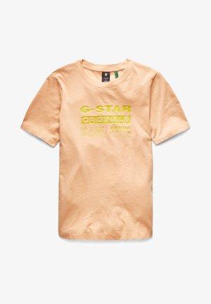 ORIGINALS LABEL REGULAR - Print T-shirt - warm liquid pink