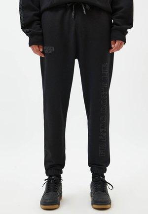 Jogginghose - mottled black
