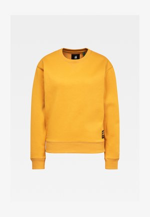 PREMIUM CORE ROUND LONG SLEEVE - Sweater - dk gold