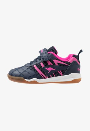COURT COMB  - Trainers - dark navy/daisy pink