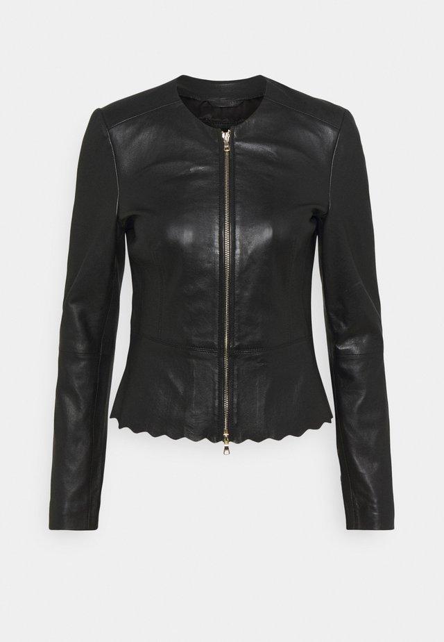 JODI - Leren jas - black