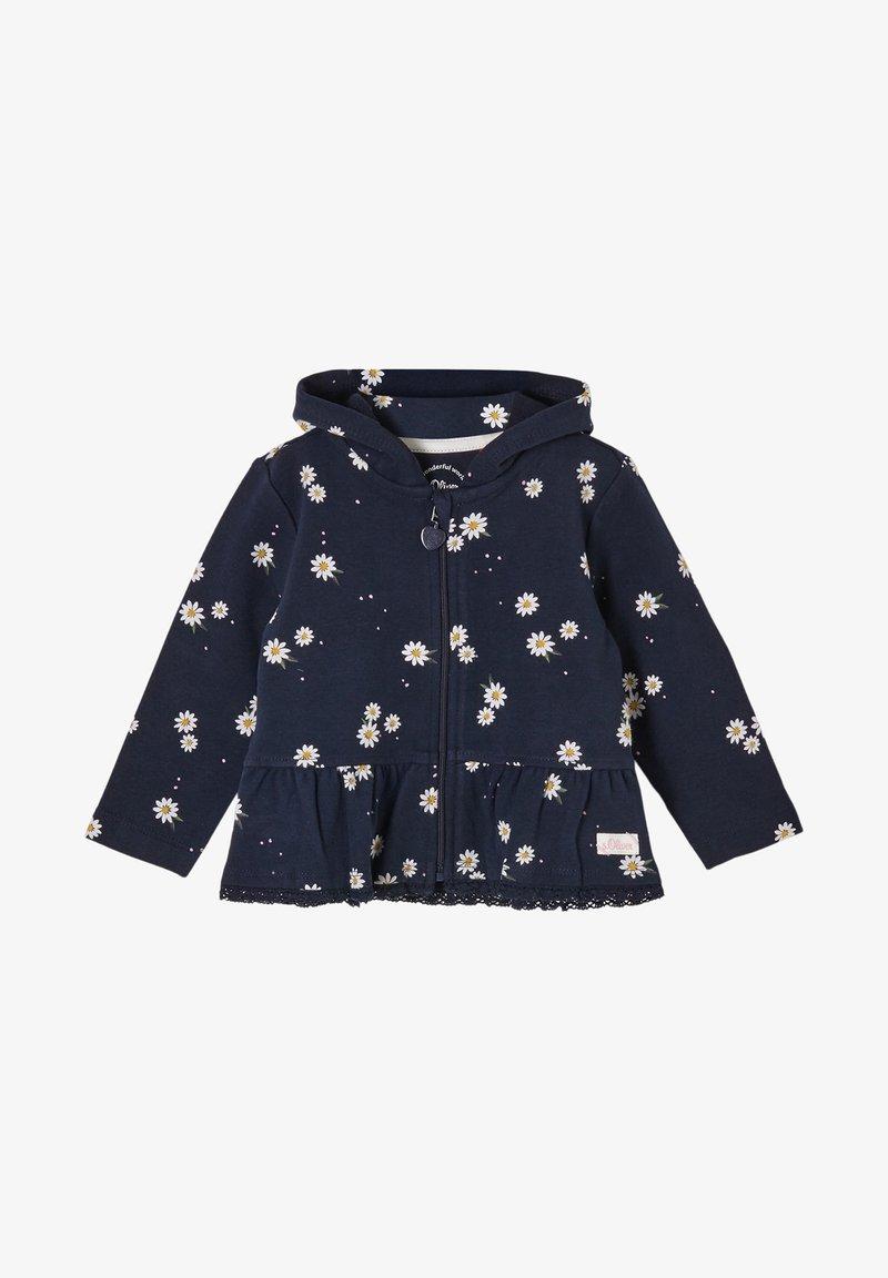 s.Oliver - Zip-up hoodie - dark blue