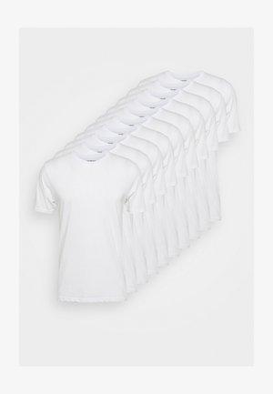 10 PACK  - T-shirt basic - white