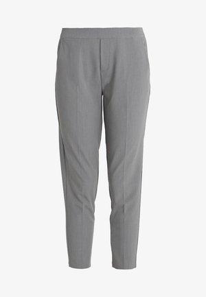OBJCECILIE - Trousers - medium grey melange
