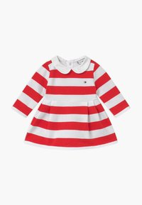 Tommy Hilfiger - BABY RUGBY STRIPE - Day dress - red - 0
