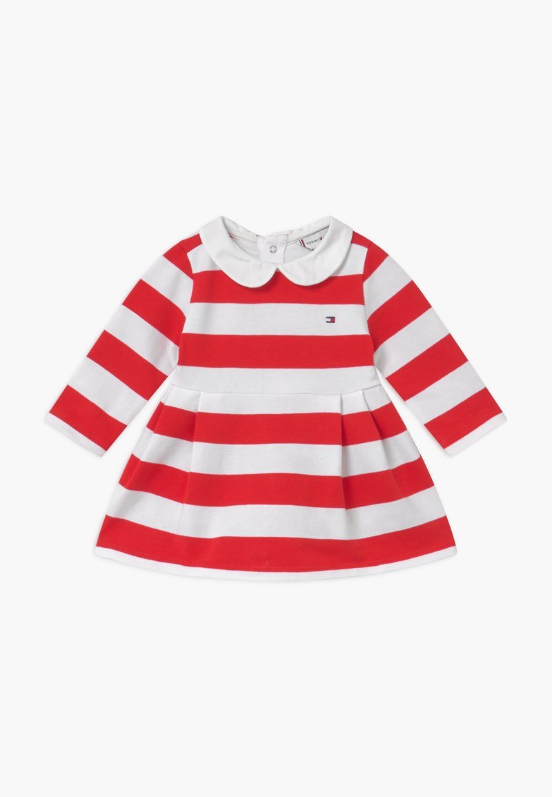 Tommy Hilfiger - BABY RUGBY STRIPE - Day dress - red