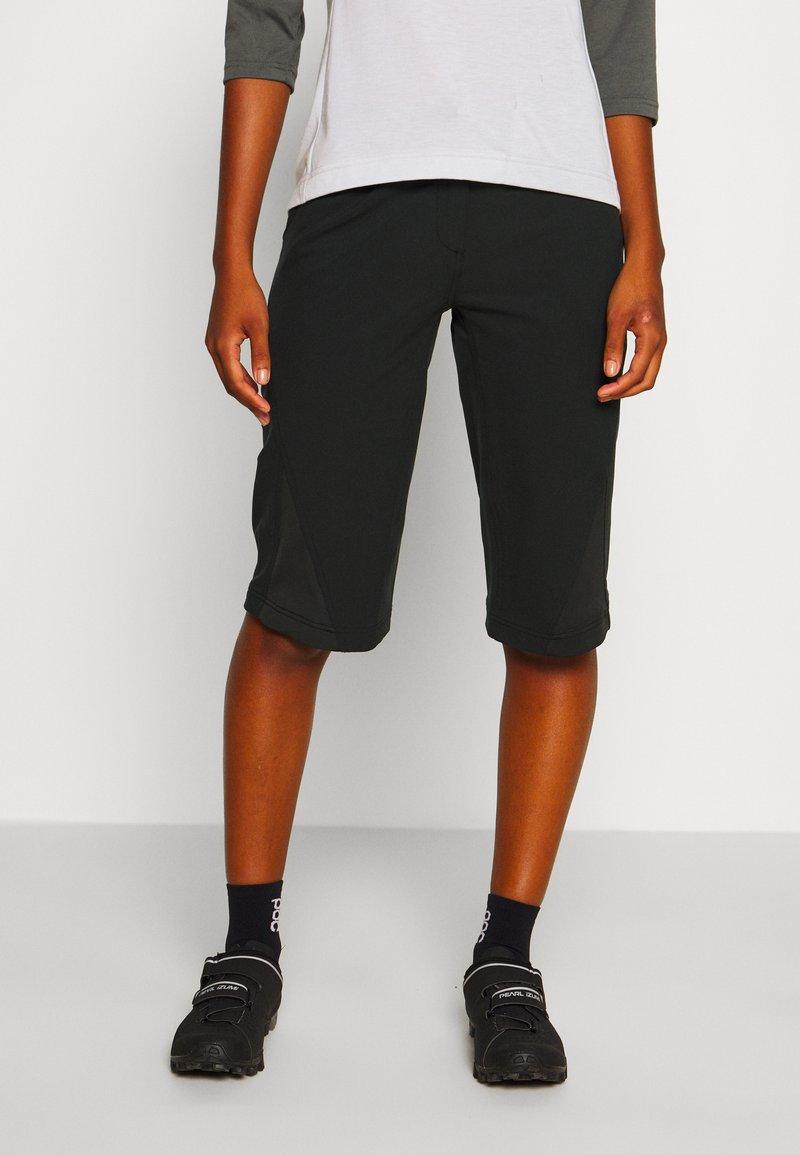 Zimtstern - STAR FLOWZ SHORT  - kurze Sporthose - pirate black