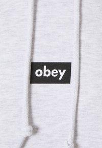 Obey Clothing - BAR - Collegepaita - ash grey - 2