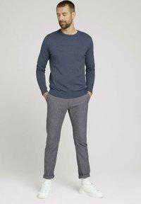 TOM TAILOR - Sweatshirt - vintage indigo blue melange - 1