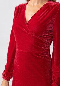 Indiska - OLIVETTA - Cocktail dress / Party dress - red - 4