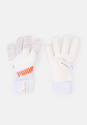 ULTRA GRIP 1 HYBRID PRO UNISEX - Goalkeeping gloves - red blast/white