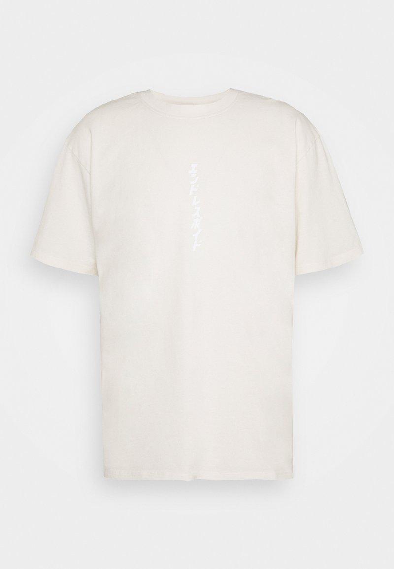 Edwin - ENDLESS VOID - T-shirt imprimé - whisper white